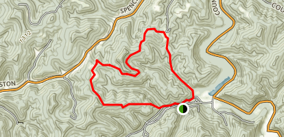 Two Run and Stone Trough Trails Map