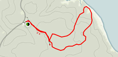 Powhatan Fork Trail Map