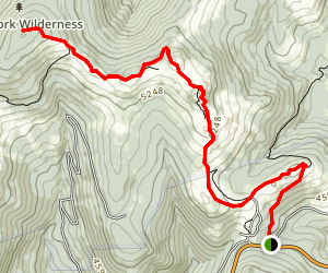 Mount Rogers Spur Trail Map