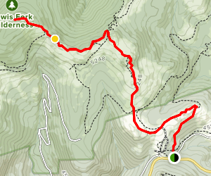 Mount Rogers Spur via Appalachian Trail Map