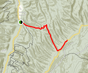Kates Mountain Trail Map