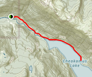 Cheakamus Lake Trail Map