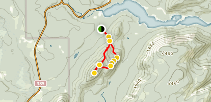 Mount Bailey Summit Trail  Map