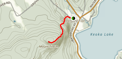 Mount Tire'm  Map