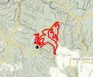 War Eagle River Valley Map