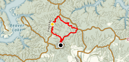 Little Clifty Creek Loop Map