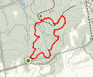 Thornton Bales Conservation Area Loop Trail Map