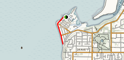 Crescent Beach Walk Map