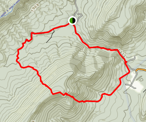 Three High Heads Loop Trail Map