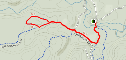 Pine Woods Loop Map