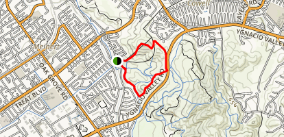 Lime Ridge North Loop Map