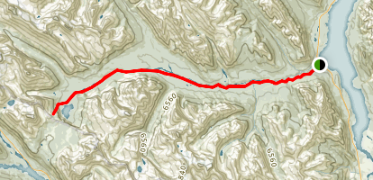 Pinto Lake Trail Map