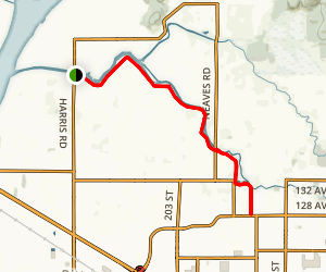 Alouette River Dykes Trail Map