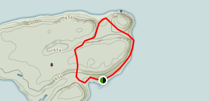 Flowerpot Island Loop Trail Map