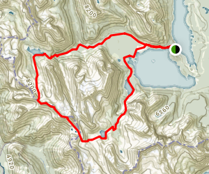 Northover Ridge Loop Trail Map