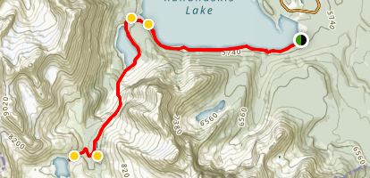 Aster Lake Trail Map
