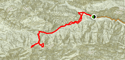 Divide Peak (CLOSED) Map