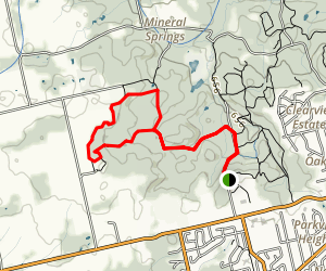 Headwaters Trail at Dundas Valley Map