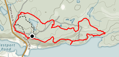 Foley Mountain Loop Trail Map