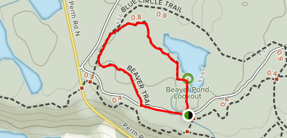Beaver Trail Map