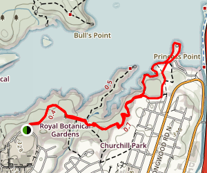 Royal Botanical Gardens Loop Trail Map