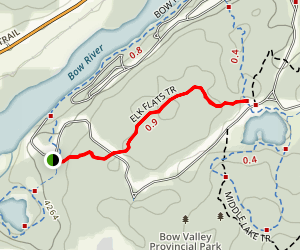 Elk Flats Trail Map