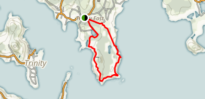 Skerwink Trail Map