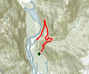 High Falls Creek Path Map