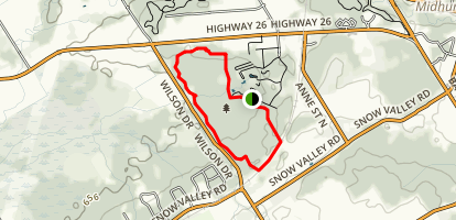 Springwater Provincial Park Loop Trail Map