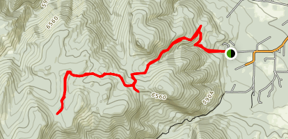 Story Penrose Trail Map