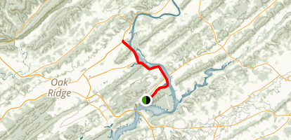 Melton Hill Greenway Map