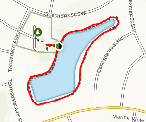 Perkins Pond Nature Trail Map