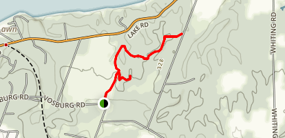 Big Field Trail and Meadow Trail Map