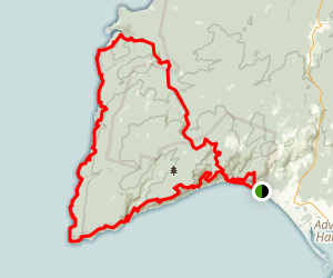 Cape Chignecto Loop Trail Map