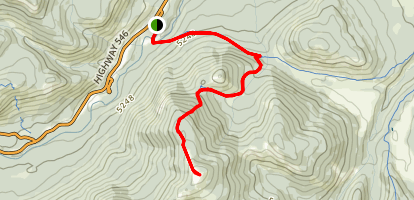 Mount Hoffman Trail Map
