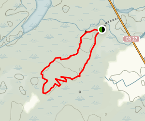 Summerstown Trails - Red Trail Map