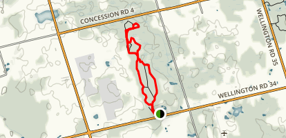 Little Tract Trail Map