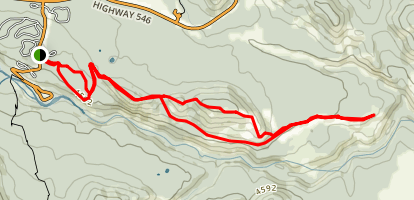 Sandy McNabb Trail Map