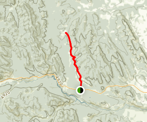 Death Valley Trail Map