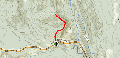 Windy Point Ridge Trail Map