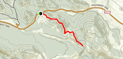 High Noon Trail Map