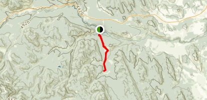 Wolf Creek Trail Map