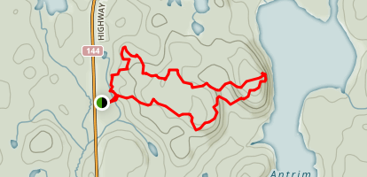 Osprey Heights Trail  Map