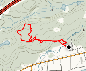 Naughton Trail Centre Map