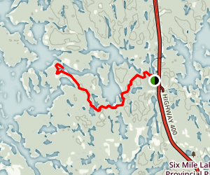 McCrae Lake Conservation Trail  Map