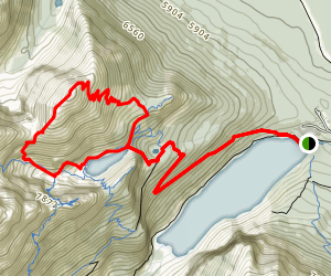 Mount Saint Perin Loop Trail Map