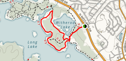 Long Lake Park Loop Trail Reserve Trail Map