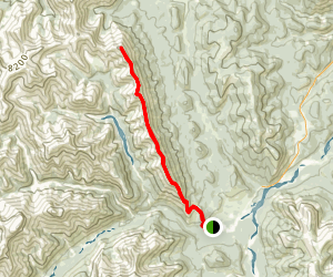 Nihahi Ridge Trail Map