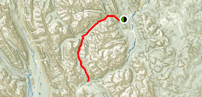 Little Elbow Trail Map