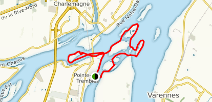 Fleuve Saint-Laurent Map